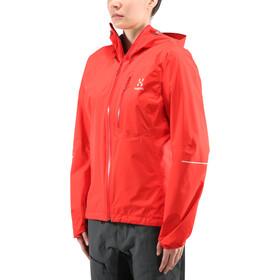 Haglöfs L.I.M Jacket Women pop red